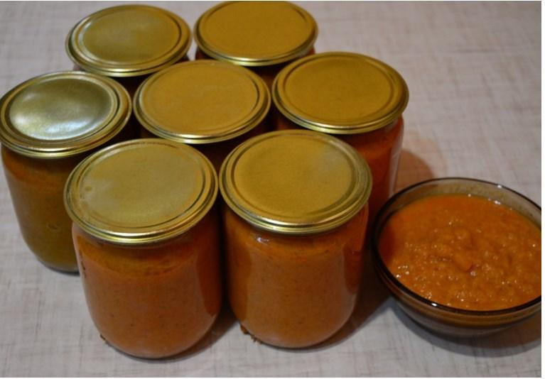 Пошаговый рецепт кабачковой икры на зиму с