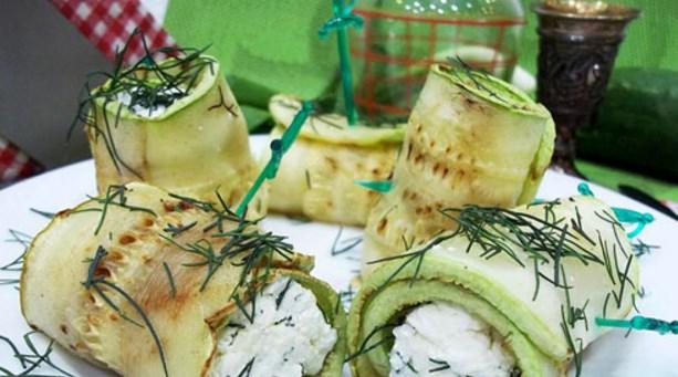 Рулеты из кабачков с разными начинками - 17 простых рецептов с фото