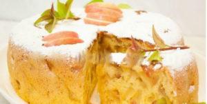 Шарлотка с яблоками в мультиварке — 9 пошаговых рецепта с фото