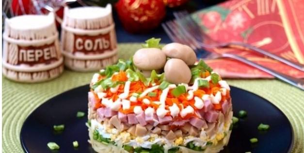 Рецепты вкусных салатов на новый 2020 год