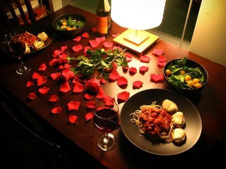 День Святого Валентина-Романтический вечер вдвоем 2020 год