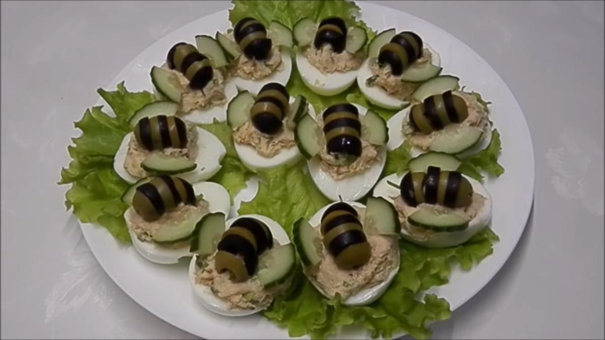 Идеи украшения праздничных блюд