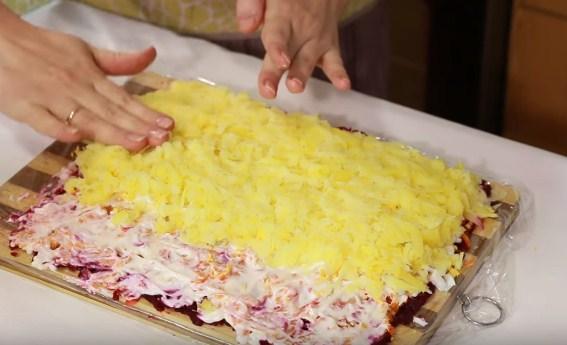 Селедка под шубой классический рецепт - 17 пошаговых рецептов с фото