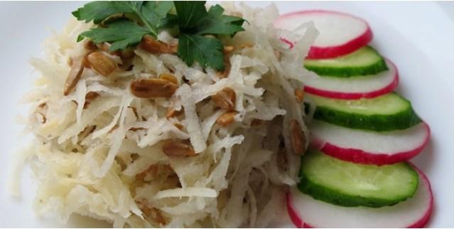 Салат из кольраби на зиму