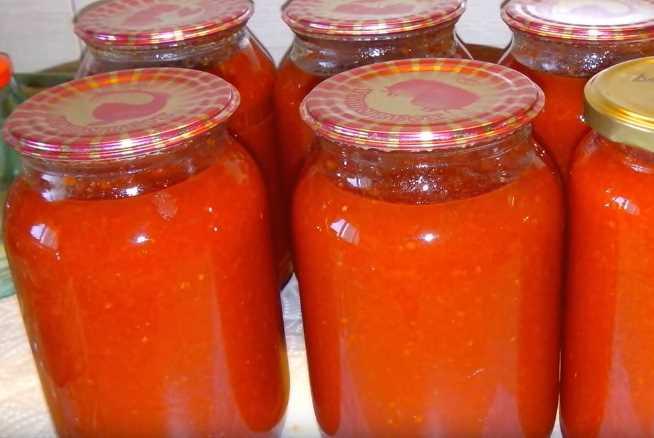 Лечо из болгарского перца с томатной пастой на зиму - рецепты с фото пошагово