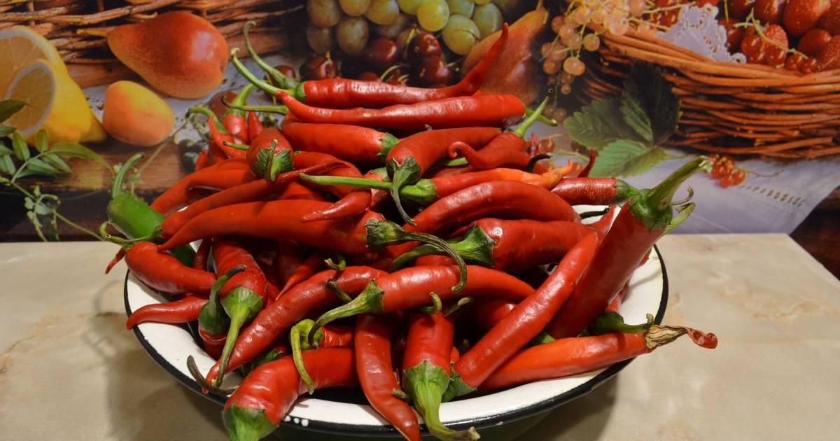Как вкусно замариновать горький перец