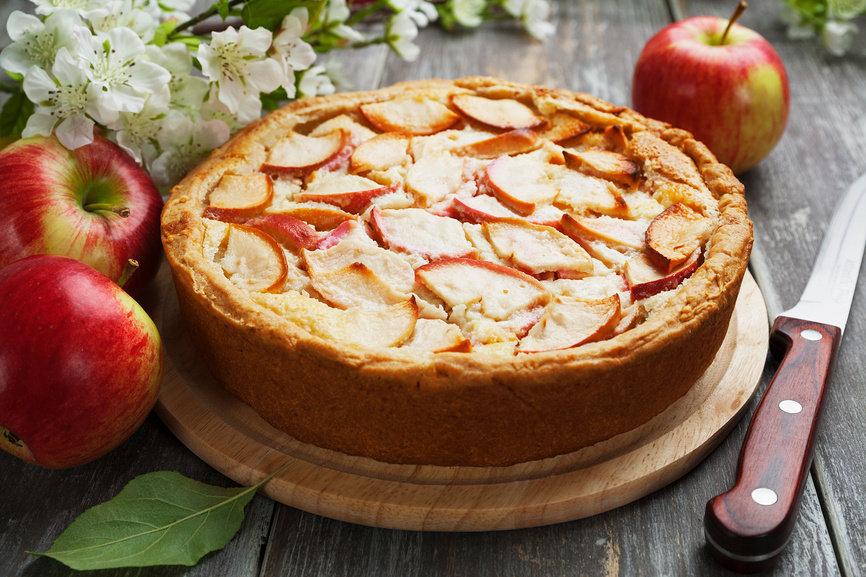 Цветаевский яблочный пирог - 5 пошаговых рецептов с фото