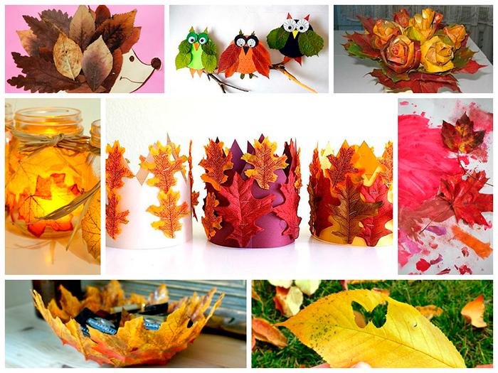 Поделки из природного материала на тему осень в школу и для детского сада. 66 интересных и оригинальных идей