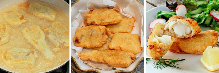 Хек на сковороде - 9 пошаговых рецепта с фото
