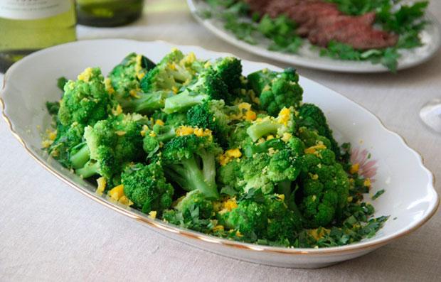 Сколько тушить брокколи свежую на сковороде