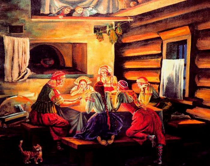 Сценарий на Рождество для компании друзей «Святочные гадания» на Новый 2020 год