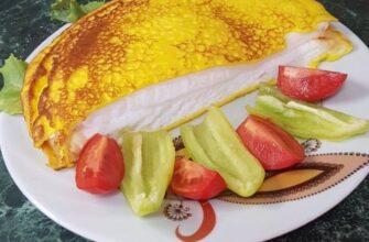 Французский омлет от матушки Пуляр - пошаговый рецепт