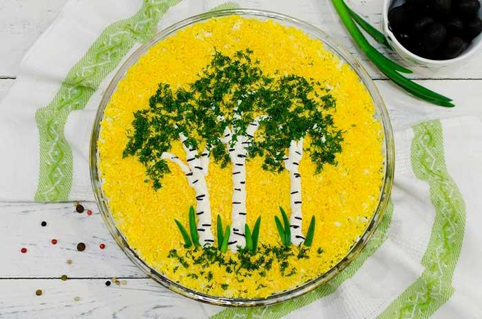Салат Мимоза с консервой – 13 классических пошаговых рецептов с фото