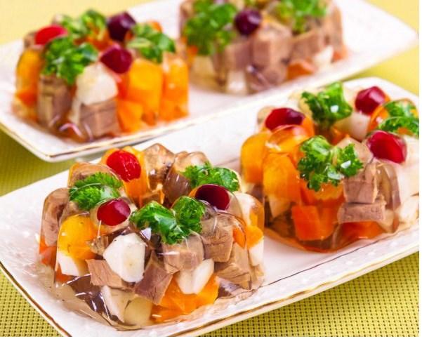 Заливное из говяжьего языка - вкусные пошаговые рецепты с фото [7 рецептов]