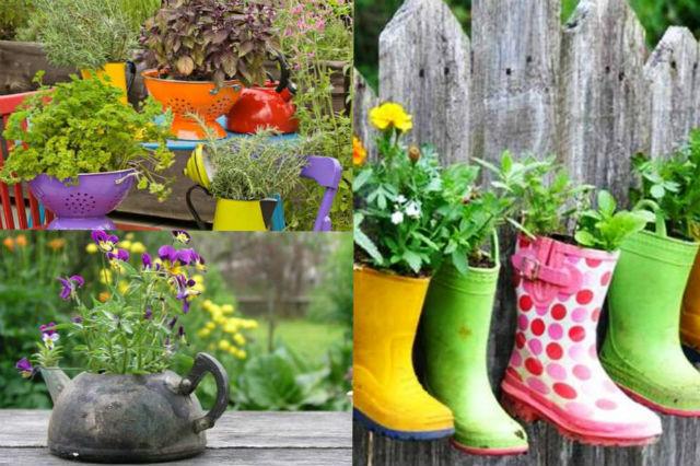 Поделки своими руками в сад и огород