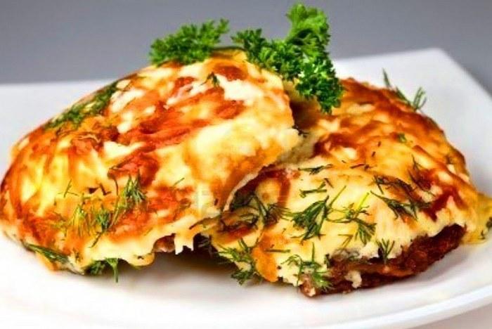 Картофель с мясом по-французски в духовке - рецепт с фото