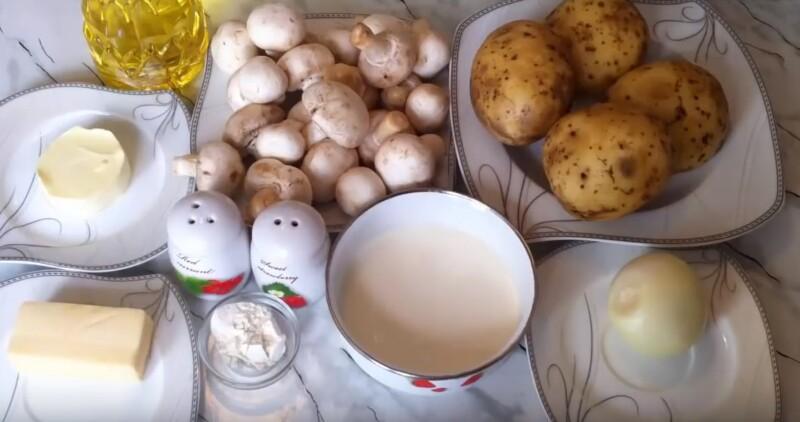 Картофельные лодочки с начинкой в духовке – пошаговый рецепт