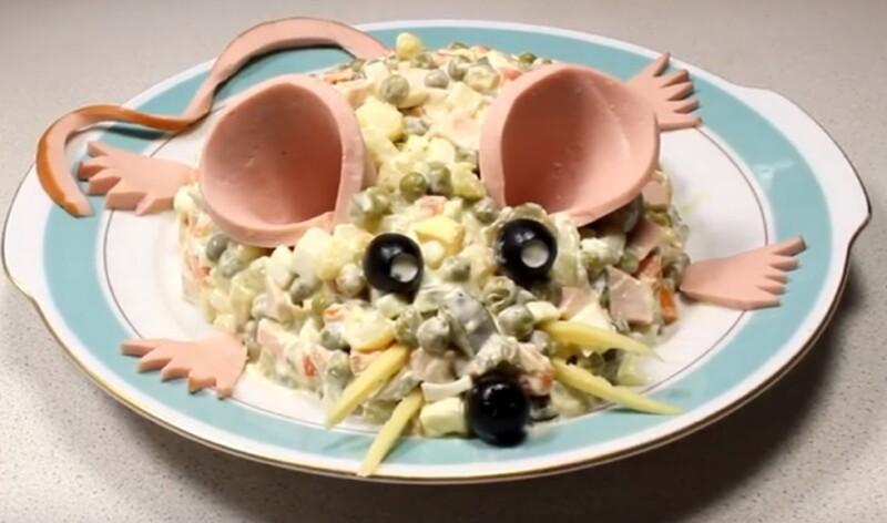 Салаты на новый год 2020: что готовить новое и интересное в год Крысы (мыши)