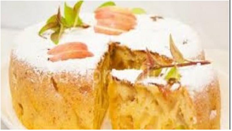Шарлотка с яблоками на праздничный стол Нового 2020 года (66 пошаговых рецептов)