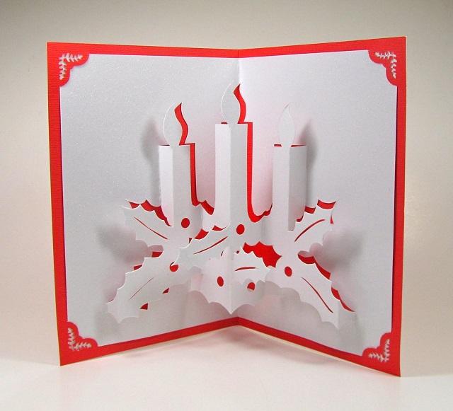 параметр, трехмерные открытки для рождественских открыток было оочень