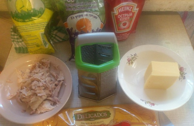 Тортильи с курицей в домашних условиях - рецепт с фото