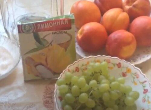 Промываем фрукты