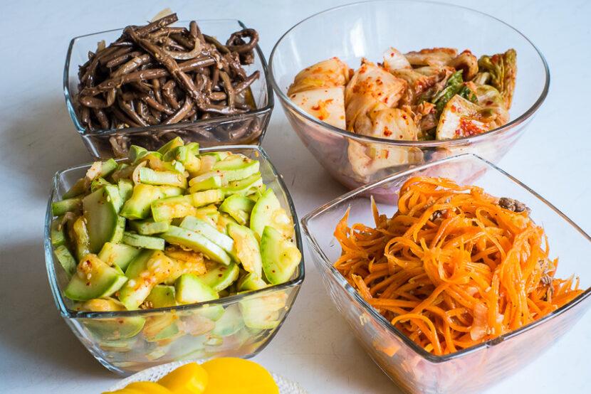 Закуски по корейски