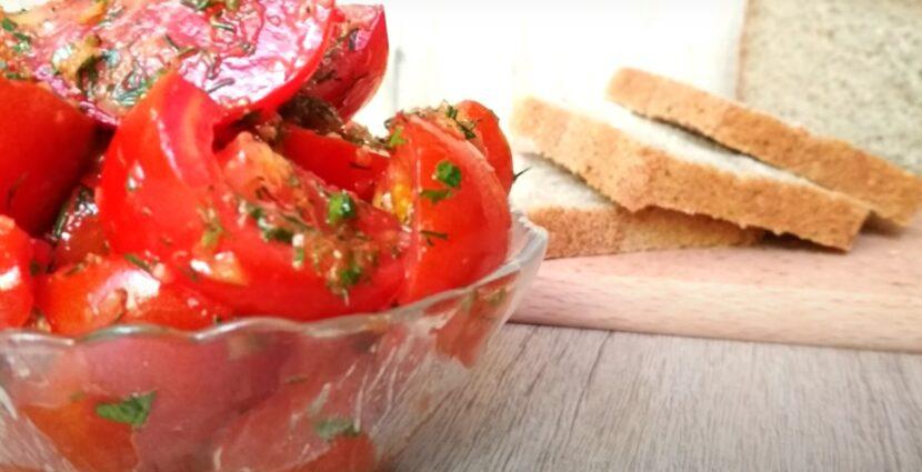 Самый вкусный рецепт помидоров по-корейски с имбирем