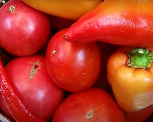 Выбираем овощи