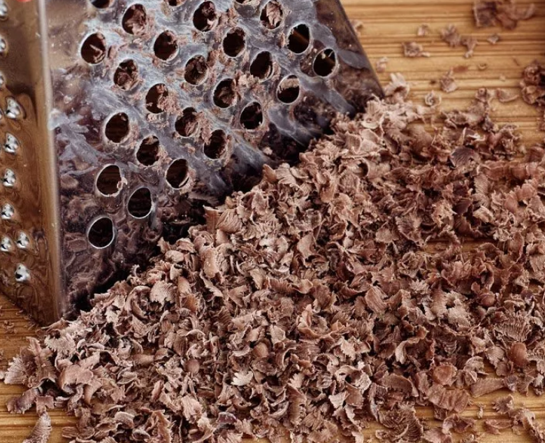 Шоколад натереть