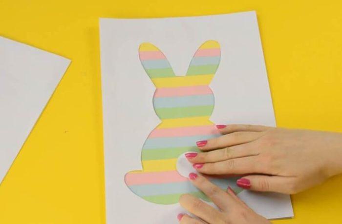 Открытка кролик